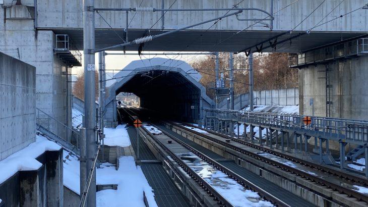 【開通まで残り1区間】七戸十和田~新青森間トンネル内における携帯電話サービスが一部使用可能に!