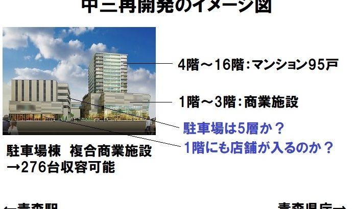 【全国異例の百貨店onマンション】青森市中三再開発まとめ 2020/05/28更新