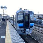 【祝】五能線GV-E400系運行開始!見事に調和された内外装/自動放送などについてのレポ